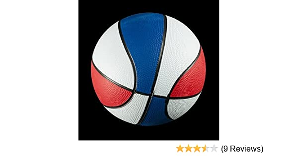 Amazon.com: Red White and Blue Mini Toy Basketball - 7 inch size - 1 per pack: Sports & Outdoors