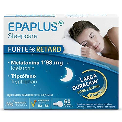 🥇 Epaplus Sueño Melatonina Liberación prolongada 60 comprimidos