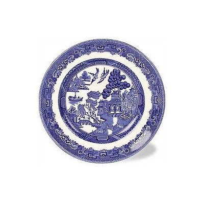 Willow Blue 6'' Bread and Butter Plate [Set of 6]