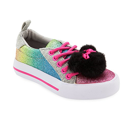 Minnie Mouse Rainbow Sneaker for Girls,Multi,11 YOUTH]()