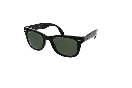Amazon.com: Ray-Ban Gafas de sol cuadradas plegables ...