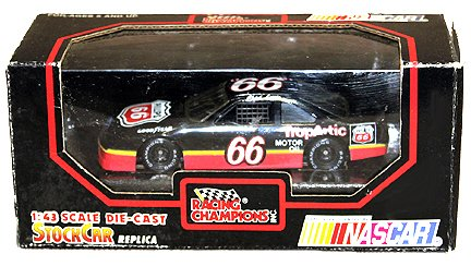 (1/43 Scale Chad Little 1992 Ford Thunderbird Stock Car #66 Trop Artic)