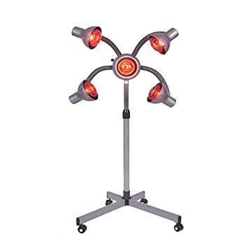 5 head salon hair steamer stand up hair color processor professional