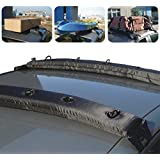1 New Pair Universal Auto Inflatable Top Roof Rack Cargo Kayak Luggage Carrier Holder
