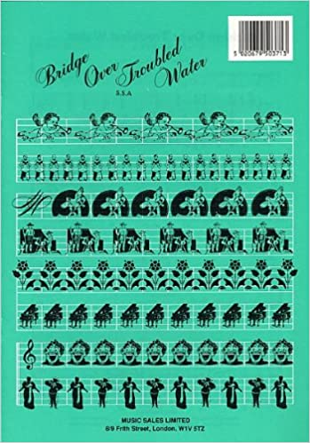 "Simon & garfunkel ""bridge over troubled water"" sheet music for."
