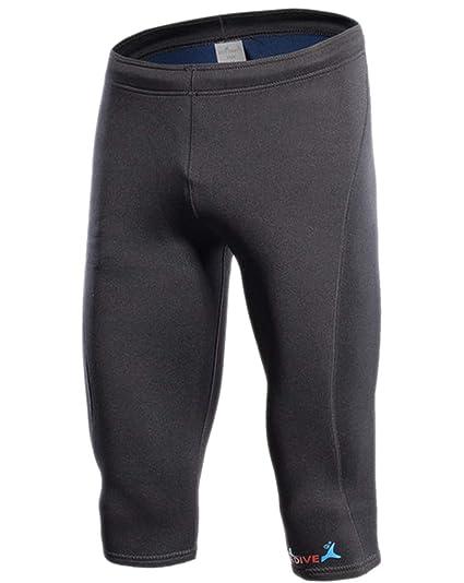 Insun Hombre Pantalones Cortos de 2mm Neopreno Elástico ...