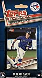 Toronto Blue Jays 2017 Topps Factory Sealed Special Edition 17 Card Team Set with Josh Donaldson and Troy Tulowitzki Plus