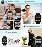VELL- TECH Smart Watch With Activity Trackers And Fitness Band Features Compatible All Phone