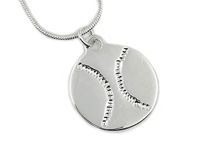 a741055ef892 Amazon.com   Softball Baseball Necklace   1Top Sellling Gift for ...