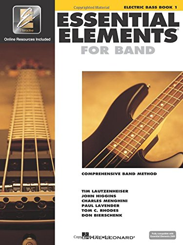 (Essential Elements for Band - Electric Bass Book 1 with EEi)