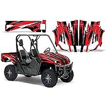 2004-2013 Yamaha Rhino 450/660/700 AMRRACING SXS Graphics Decal Kit:Attack-Red