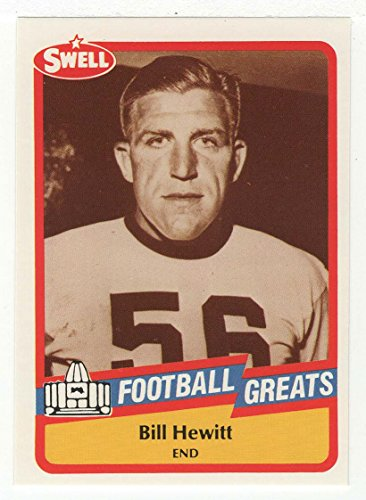 Bill Hewitt (Football Card) 1989 Swell Football Greats # 46 Mt