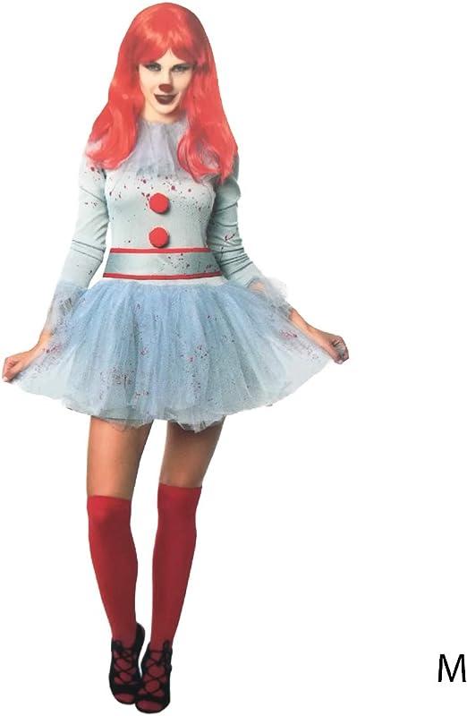 LEMON TREE SL Disfraz para Halloween de Mujer de Payaso Sádico ...