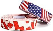 "TOBWOLF 2PCS Hockey Tape, 1"" x 27 Yard Adhesive Cloth Tape Hokey Stick Blade Handle Shaft Bat Sports Tape"