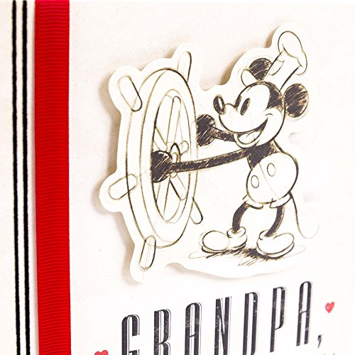 Hallmark Father's Day Greeting Card for Grandfather (Disney Mickey Mouse, World of Love and Experience) Photo #6