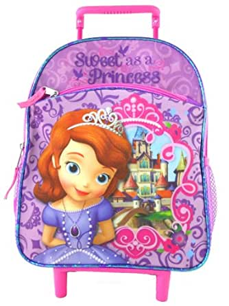 Amazon.com | Sofia the First Rolling Backpack - Sweet