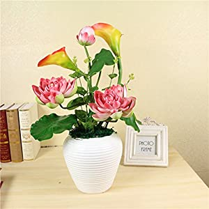 FYYDNZA Whole Floral Emulation Flower Suit Flower Home Living Room Silk Flower Decorative Flower Potted Whole 119