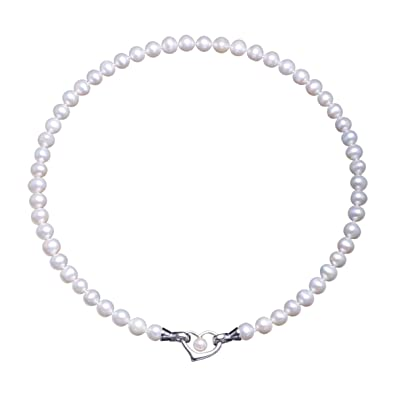 a3baeafa90ba VIKI LYNN Damen Kette Hochzeitstag Perlenkette Perlen Halskette mama  Geschenkideen in 3 Tragevarianten mit 7-