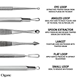 Cliganic Blackhead Remover Tools Kit   Pimple Extractor Set with Instructions