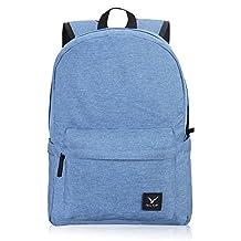 Hynes Eagle Lightweight School Backpack (Denim Blue)