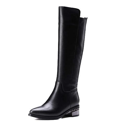 JIEEME z108-121 - Botines Chelsea de Charol Mujer: Amazon.es: Zapatos y complementos