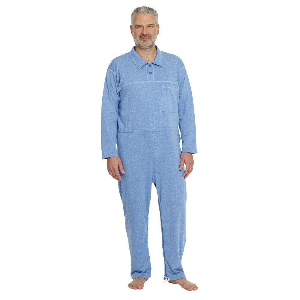 Suprima Pflegeoverall mit Polokragen und Knopfleiste XL jeans