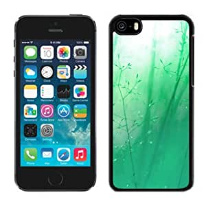 Green Blue Reeds Durable High Quality iPhone 5C Phone Case