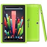 Yuntab Q88 7 Inch Allwinner A33,1.5 Ghz Quad Core Google Android Tablet PC,512MB+8G,Dual Camera,WiFi,Bluetooth,Mini USB,G-Sensor,Support SD/MMC/TF Card(Green)