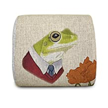 Hugwarm Portable Tree Frog High Quality Memory Foam Back Cushion for Car Seats, Office Computer Seats,sofa and Other Chairs