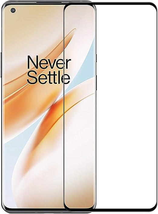 Image ofProtector de Pantalla OnePlus 8 Cristal Templado [9H Dureza][Alta Definición][Fácil de Instalar] para OnePlus 8 (1 Piezas)