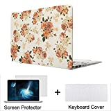 Neway 3 in 1 bundle Matte Surface Crystal Rubberized Hard Shell Case cover protector for Apple Macbook Air 13.3