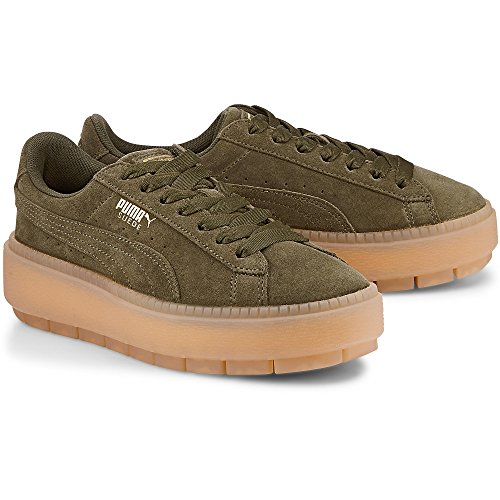 Olive Chaussures Night Platform Trace Vert Puma AtHpqnR1