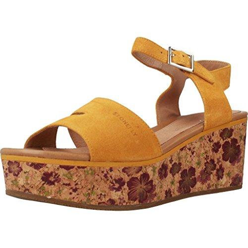 Y 2 Amarillo Mujer Chanclas Amarillo Mujer Para Amarillo Stonefly Chanclas Para Color Diva Modelo Marca y Sandalias Sandalias xZfC1v