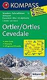 Ortler /Ortles - Cevedale: Wanderkarte mit Aktiv Guide, Panorama, Rad- und alpinen Skirouten. GPS-genau. 1:50000. (KOMPASS-Wanderkarten, Band 72)