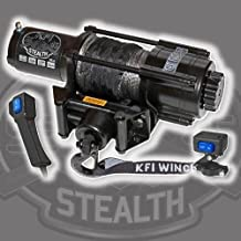 KFI stealth series wide spool winch 4500lb #SE45W