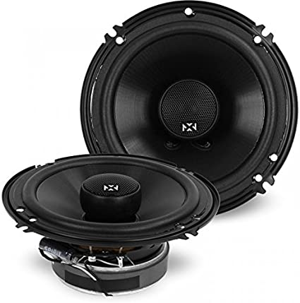 Amazon Com Nvx V Series 6 Inch True 100 Watt Rms 2 Way Coaxial Car Speakers With Silk Dome Tweeters Set Of 2