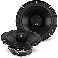 NVX 5 inch x 7 inch / 6 inch x 8 inch True 130 watt 2-Way Coaxial Car Speakers [V-Series] with Silk Dome Tweeters, Set of 2 [VSP68]