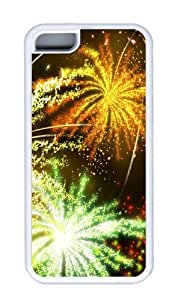 Customized Case Disney Fireworks 2 White for Apple iPhone 5C