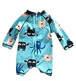 Infant Baby Boys Sunsuits Rash Guard Swimsuit