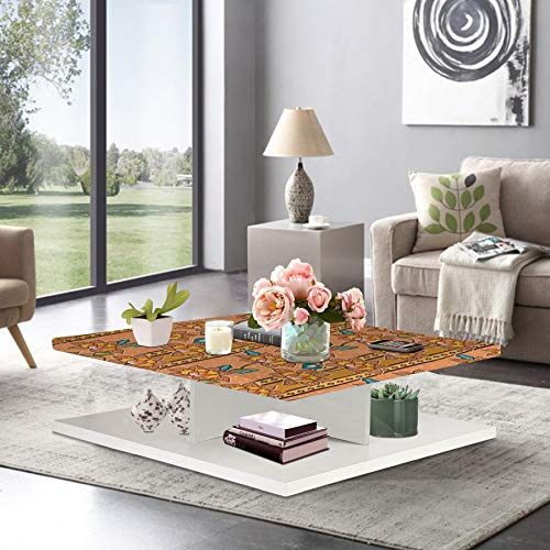Aart Square Coffee Table for Living Room Wooden Center Table