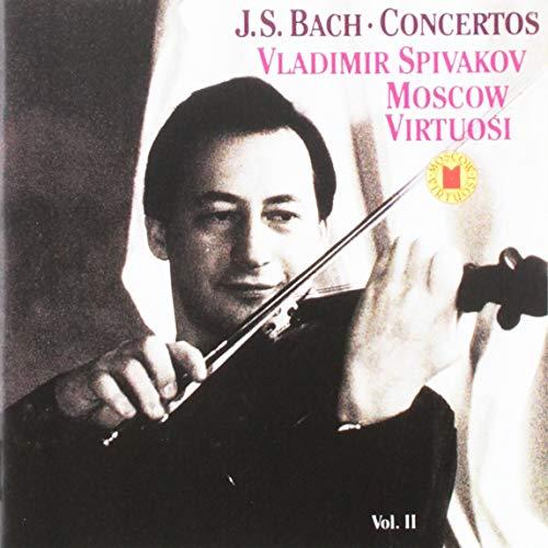 (Bach: Concertos for Violin; Concertos for Oboe and Oboe d'Amore / Vladimir Spivakov / Alexei Utkin / Moscow Virtuosi)