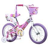 """Titan 081-8116 Girl's Flower Princess BMX bicicleta, 16"""", Pink"""