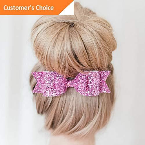 Sandover Women Girls Cute Bling Bowknot Hairpin Barrette Chic Hair Clip Hair Accessories   Model HRPN - 7803  