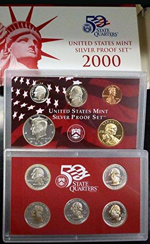 2000 U.S. Mint Silver Proof Set Set ()