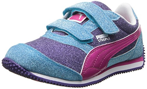 55464894122 PUMA Steeple All Over Glitter V Sneaker (Toddler Little Kid) - Buy Online  in KSA. Shoes products in Saudi Arabia. See Prices