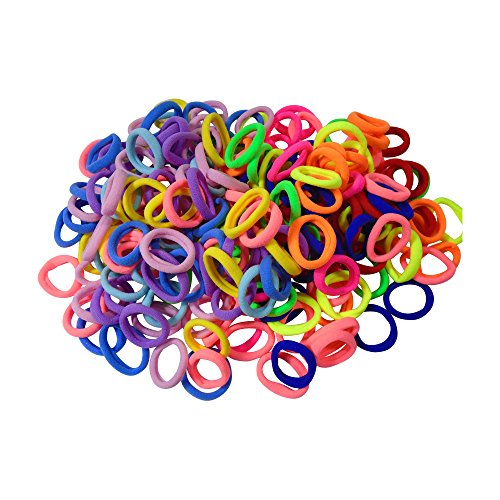 Elastics Hair Bands Ties. Tiny Soft Elastic Bands for Toddlers Girls ... b895f3368b7