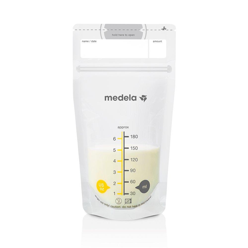 Medela Muttermilchbeutel, hygienisch, platzsparend, auslaufsicher (25 Stück) Medela Medizintechnik GmbH 008.0403