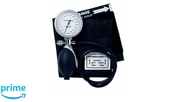 Timesco, esfigmomanómetro aneroide D05.120, Topaz De lujo, sostener con la mano: Amazon.es: Industria, empresas y ciencia