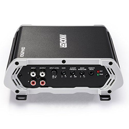 Kicker 43DXA250.1 250-Watt Monoblock Class D Subwoofer Car Amplifier