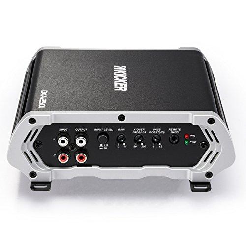 Kicker 43DXA250.1 250-Watt Monoblock Class D Subwoofer Car Amplifier